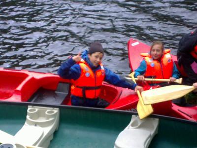 Kanotur til Åstveitskogen (Juniorgruppen)