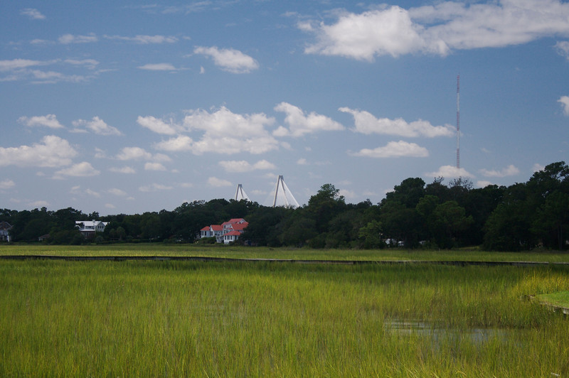 The Marshes and the Bridge (at Shem Creek)