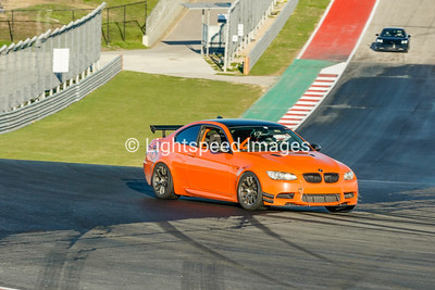 #14 Orange BMW M3