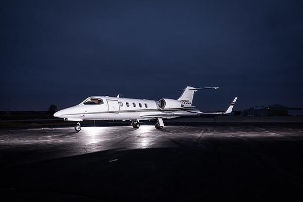 Lear 31A N229LJ (High Res w/Logo)