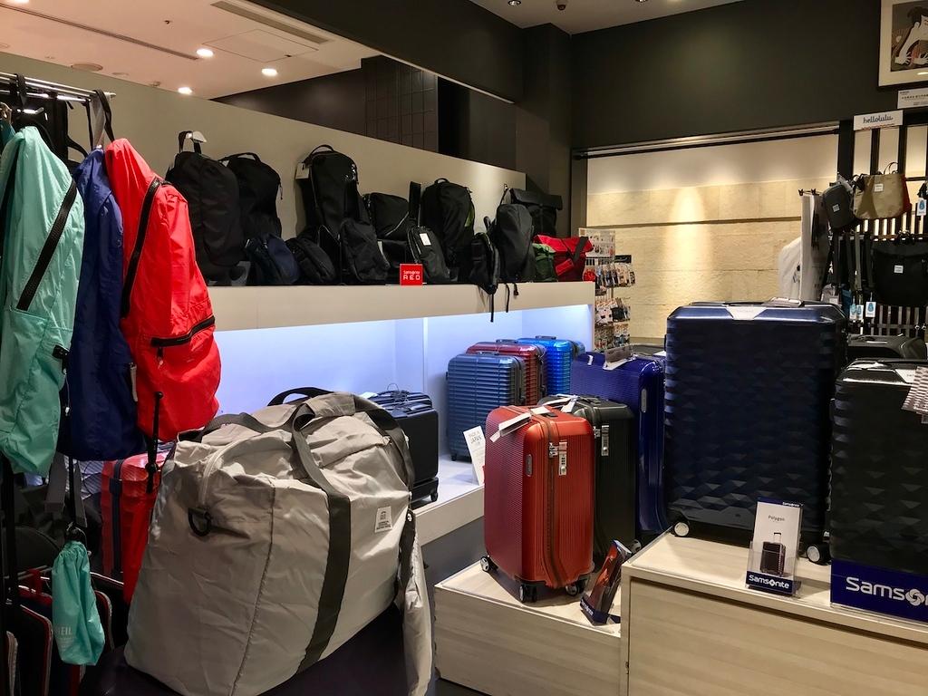 Samsonite suitcases for sale.