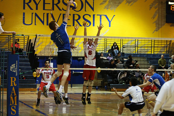 Ryerson Rams Mens Volleyball