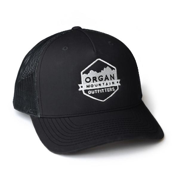 Organ Mountain Outfitters - Outdoor Apparel - Hat - Snapback Trucker Cap - Black.jpg