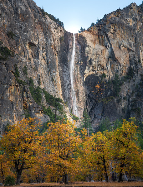 Autumn at Yosemite Falls