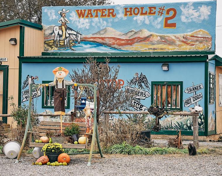 Route 66 - Texola Ghost Town, Oklahoma - Texola Ghost Town, Oklahoma