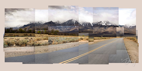Open Road Collage