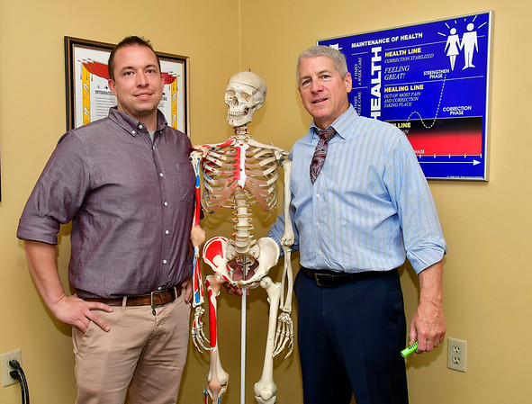 11/20/2019 Mike Orazzi | StaffrDr. Matthew Roberts and Dr. Glen Palmisano.