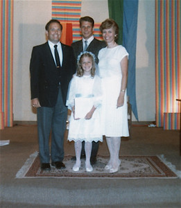 1986 Julie's 1st Communion