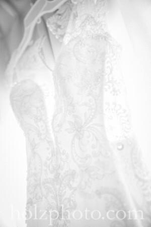 Ryann & Jason B/W Wedding Photos