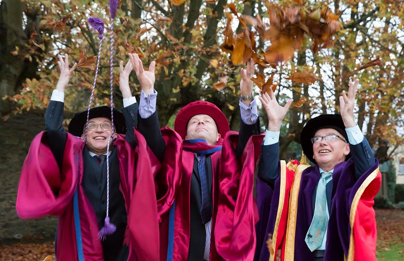 28/10/2015 Image Free to Use. Conferring at Waterford Institute of Technology. Doctor of Philosophy Mark White. Photo; Mary Browne