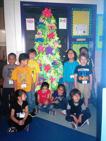 Binion Elementary Holiday Doors 2012