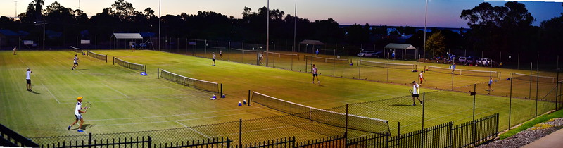 Night tennis in Barmera