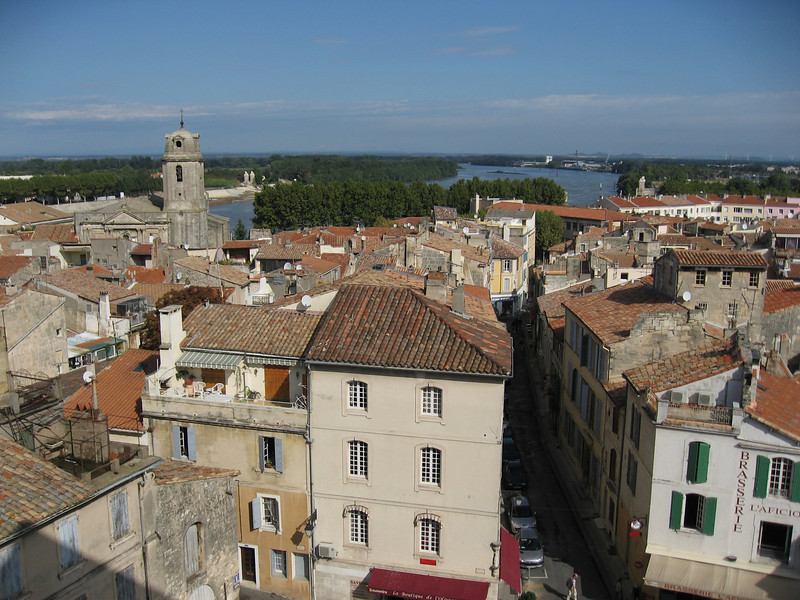 View from Roman Coliseum, Arles