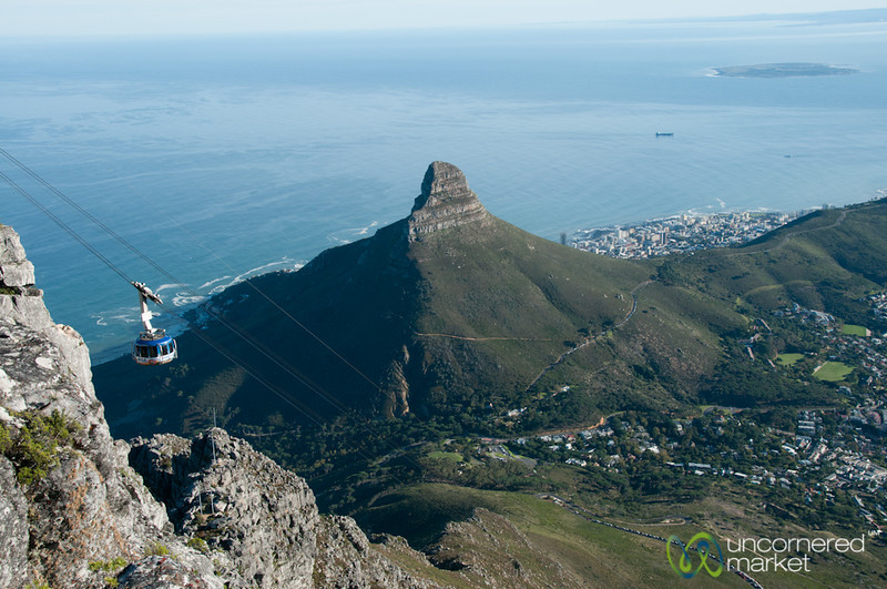 Table Mountain Views & Cable Car - Cape Town, South Africa