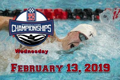 2019 Wednesday NCAC Championships (02-13-19)