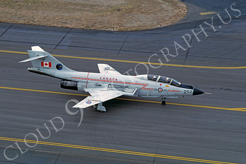 F-101BForg 00001 McDonnell F-101B Voodoo Canadian Armed Forces 101052 August 1976 by Carl E Porter .JPG