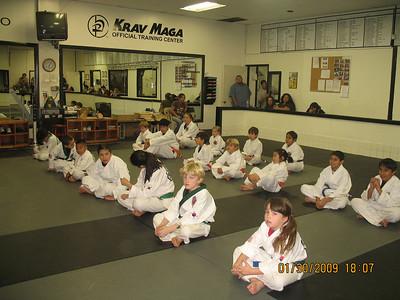 1-30-2009 Color Belt Testing
