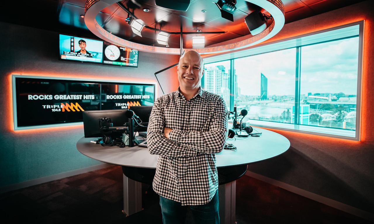 Rex Morris (photo credit: Triple M Network)