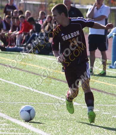 Mansfield - Sharon Boys Soccer - 10/8/14
