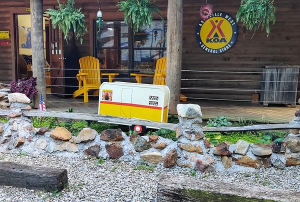 Maggie Valley, SOWO, KOA camping 8/16-18/19