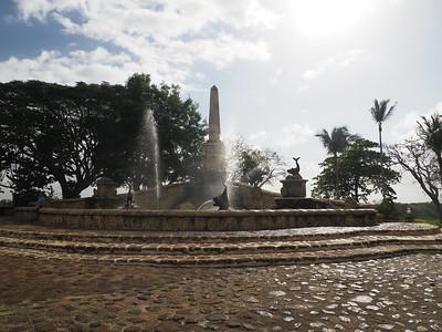 La Romana - Ancient village Altos de Chavón - Water fountain