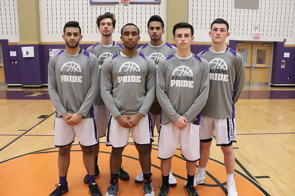Feb. 1, 2018 Sr. Night Boys Basketball vs Piscataway