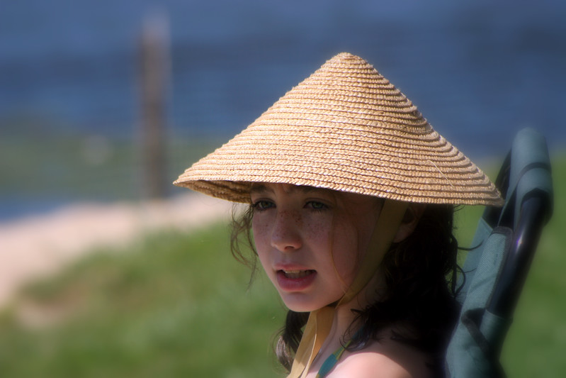 Emmy in her Chinese hat.jpg