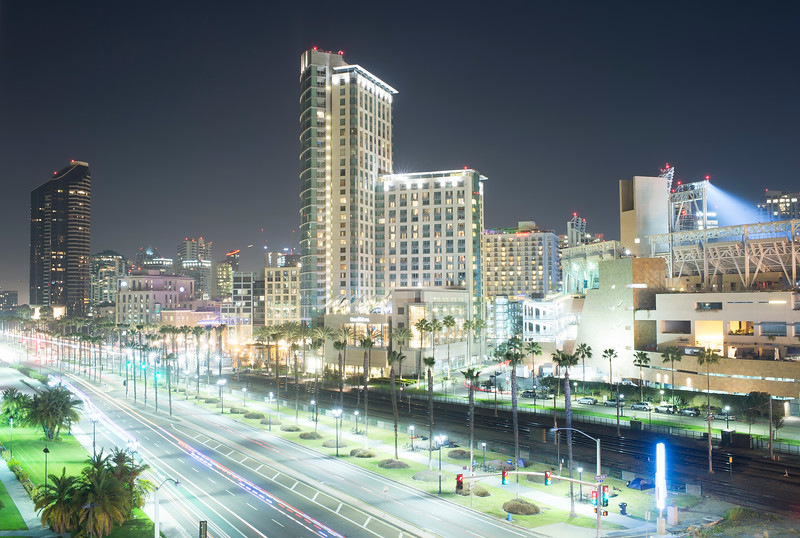 Downtown San Diego from Hilton Parking Structure