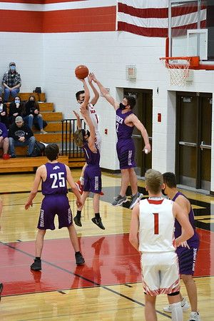 Ithaca @ Highland Boys Basketball 2-19-21