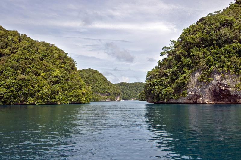 Rock Island Channel 2 - Palau