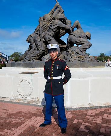 Marine Graduation plus other Marine photos