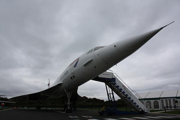 Concorde G-BOAC - October 2008