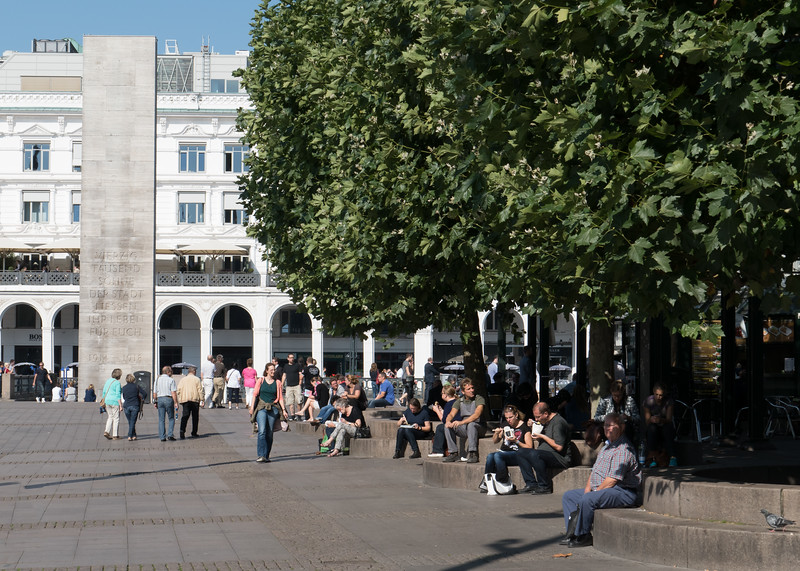 Rathausplatz Hamburg