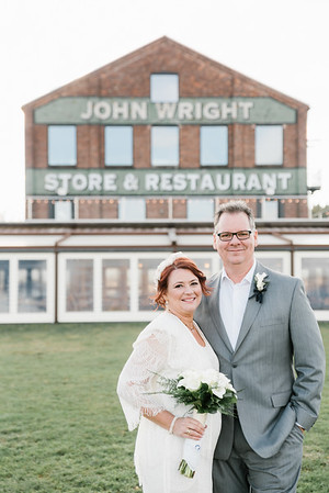 Lisa and Andy's Wedding at the John Wright Restaurant