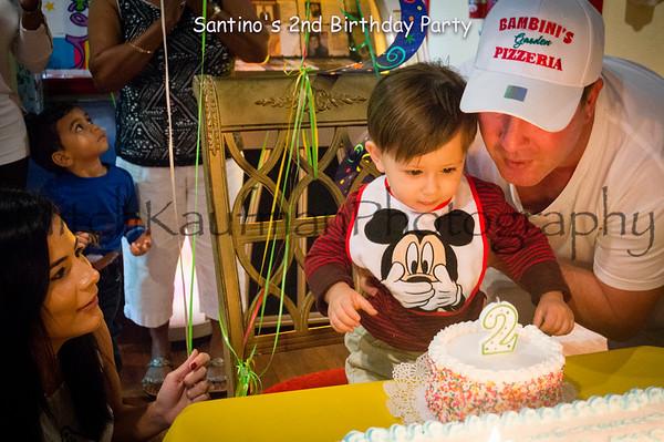 Santino's 2nd Birthday Party