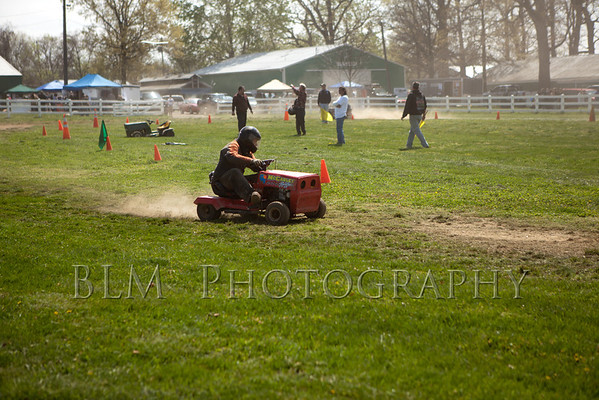Lawn Mower Racing - April 2012