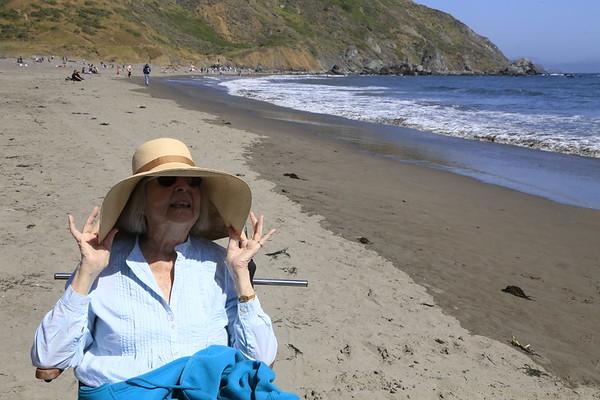 Nela at Muir Beach 5/30/16