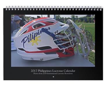2017 Philippines Lacrosse Calendar (International Lacrosse Showdown)