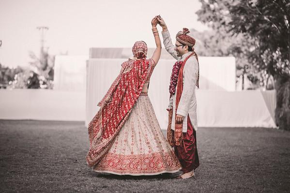 A Pretty Day Wedding - Riddhi & Amar