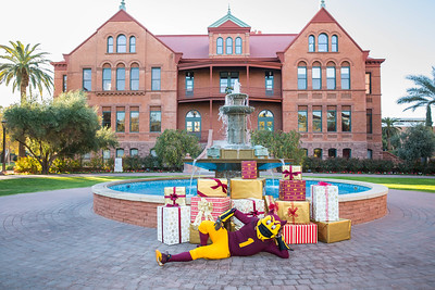 ASU Alumni Association - Holiday Fun With Sparky!