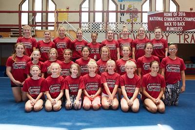 2016 UWL Gymnastics Camp