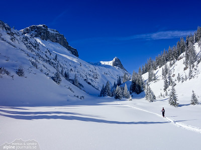 Untere Gottesackerwände ski tours