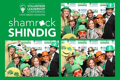 Cystic Fibrosis Foundation Shamrock Shindig Photo Booth