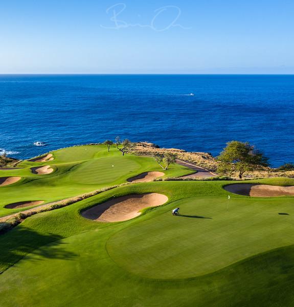 Manele Golf Course - Four Seasons Lanai'