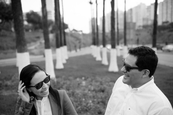 Andrea Nakashima y Victor