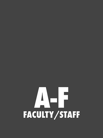 A-F (Faculty/Staff)