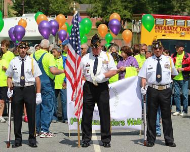 Annual Cherokee Elders Walk 5-16-14