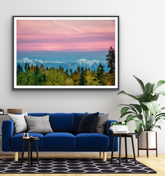'Autumn Hues' Framed Fine Art Print