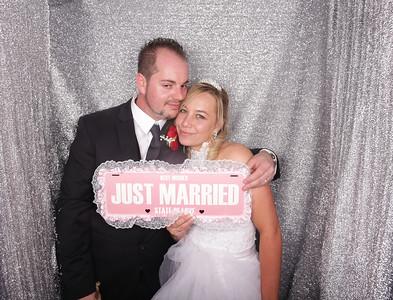 Wedding of Toni & Michael Photobooth Photos
