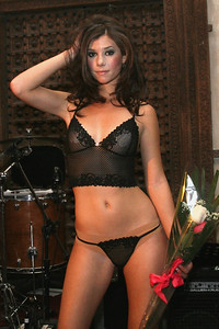 Seduction Lingerie Fashion Show model at the NBA All-Star Weekend Blowout hosted by Snoop Dogg at Barcelona Club in Scottsdale, AZ, 14 February, 2009